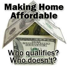 Making Homes Affordable Refinance